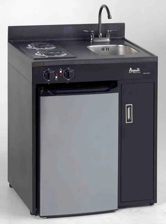 Avanti CK30B1 30 Inch Compact Kitchen with 2 Electric