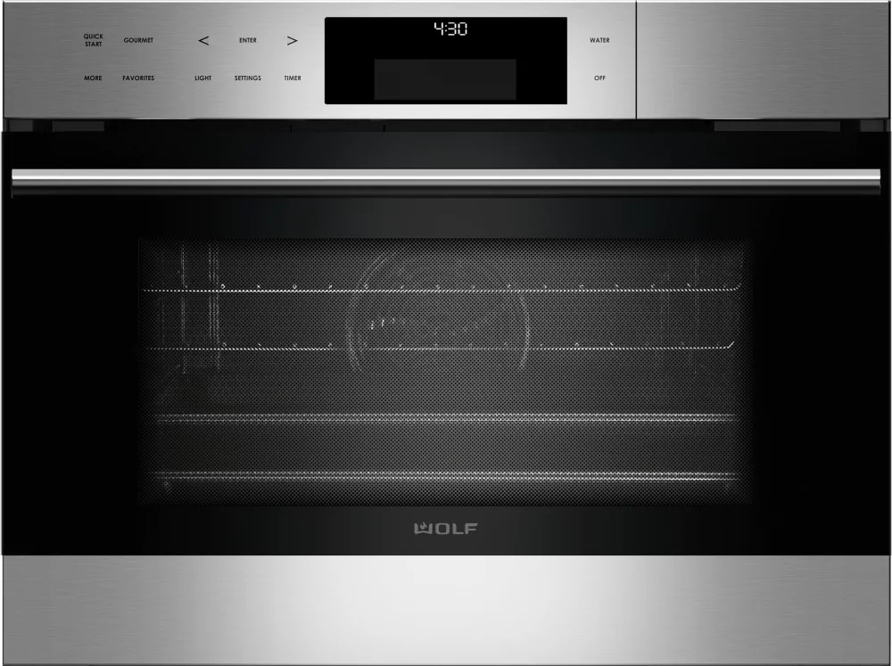 Wolf CSO24TESTH 24 Inch Steam Oven with 18 cu ft