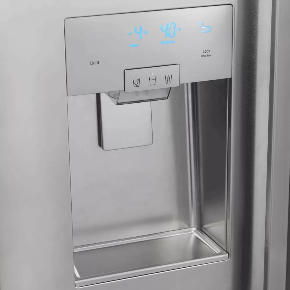 zephyr kitchen hood farm table dacor dyf42bsiws 42 inch built-in refrigerator with 25.6 ...
