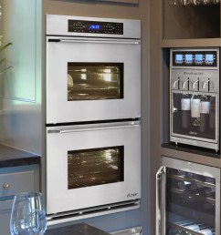 dacor renaissance rno230s stainless steel double wall oven with epicure handle  [ 1000 x 1000 Pixel ]