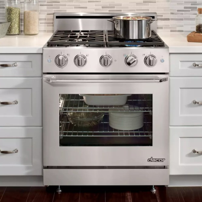 Dacor Clic 4 Burner Gas Cooktop Stainless Steel Common 30