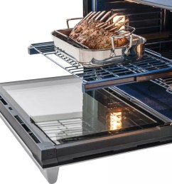 electrolux icon professional e30ew75pps self cleaning racks during self cleaning cycle  [ 1000 x 879 Pixel ]