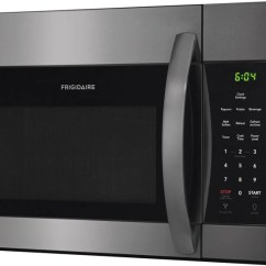 Frigidaire Kitchen Appliances Reviews Knobs And Handles Ffmv1645td 30 Inch Over The Range Microwave ...