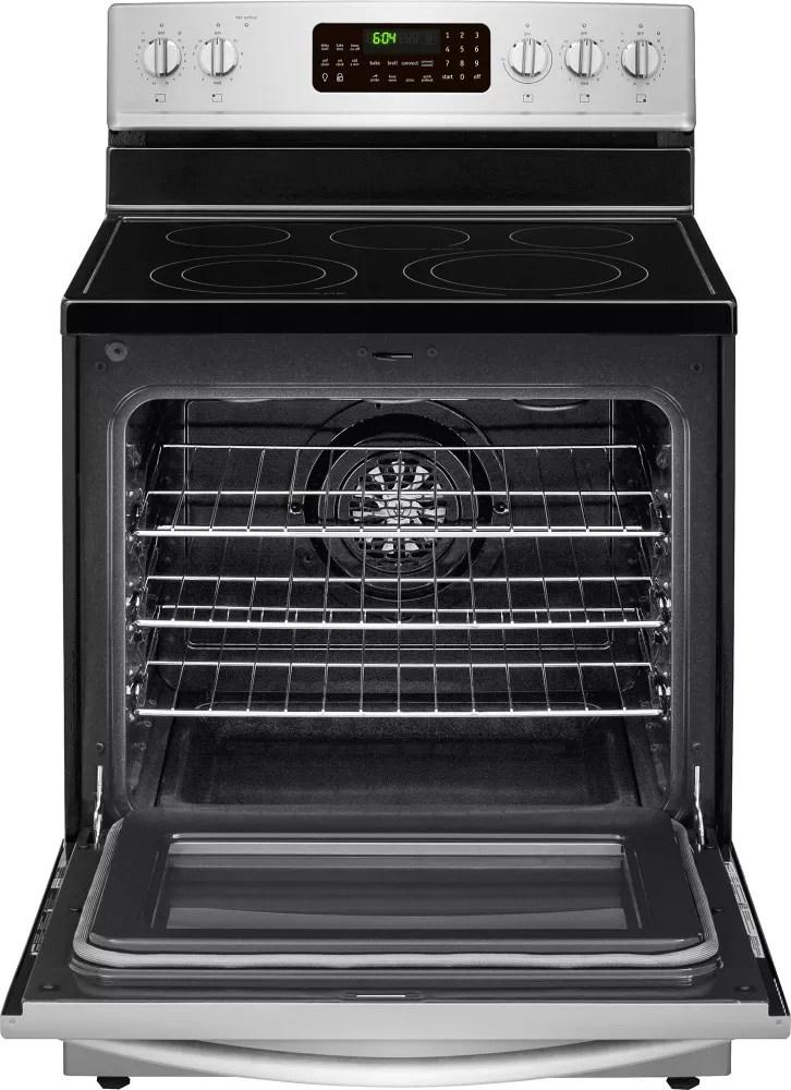 frigidaire kitchen appliances trailers fgef3058rf 30 inch freestanding electric range ...