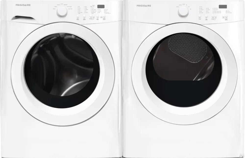 Frigidaire FRWADREW1 SidebySide Washer  Dryer Set with