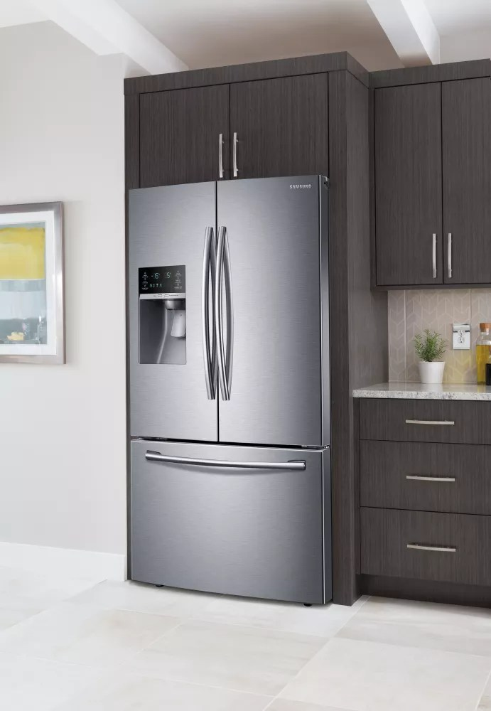 Samsung RF23HCEDBSR 36 Inch French Door Refrigerator with