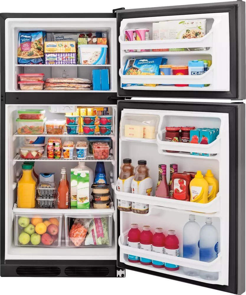 Frigidaire FFHT1514QS 28 Inch TopFreezer Refrigerator with Energy Star 146 cu ft Capacity