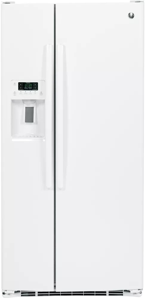 GE GSS23GGKWW 33 Inch Side-By-Side Refrigerator with Ice