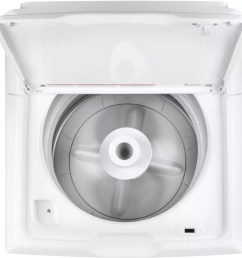 top load washer from ge ge gtw330askww rear controls ge gtw330askww interior view  [ 1000 x 1000 Pixel ]