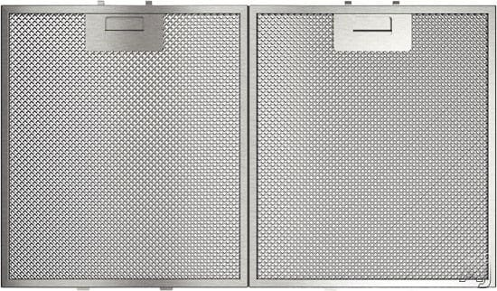 kitchen hood filters buy white cabinets bosch hcp36651uc 36 inch wall mount chimney range with 300 series aluminum mesh
