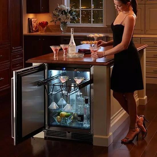 Perlick HP24FS32L 24 Inch Builtin Undercounter Freezer