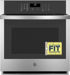 ge jks3000snss 27 inch built in single wall oven with 4 3 cu ft total capacity scan to cook technology fit guarantee glass touch controls  [ 947 x 1000 Pixel ]