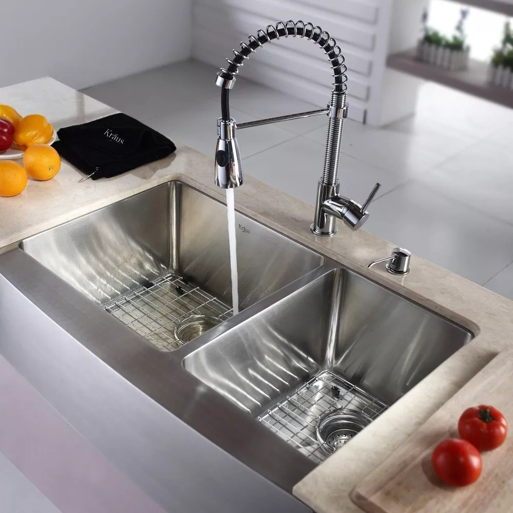 kraus kitchen faucets mexican style honest force modern pendant view larger