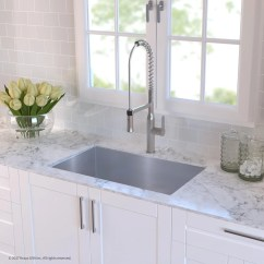 30 Kitchen Sink Hotel Room With Kraus Khu10030165041ss Inch Undermount And Commercial Faucet Combo Noisedefend 16 Gauge Stainless Steel Grade Finish