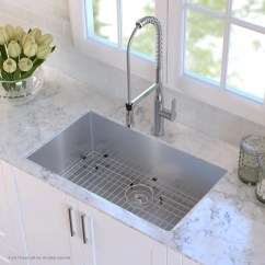 Kraus Kitchen Sinks Remodeling Ideas Pictures Khu10032 32 Inch Undermount Single Bowl Sink ...