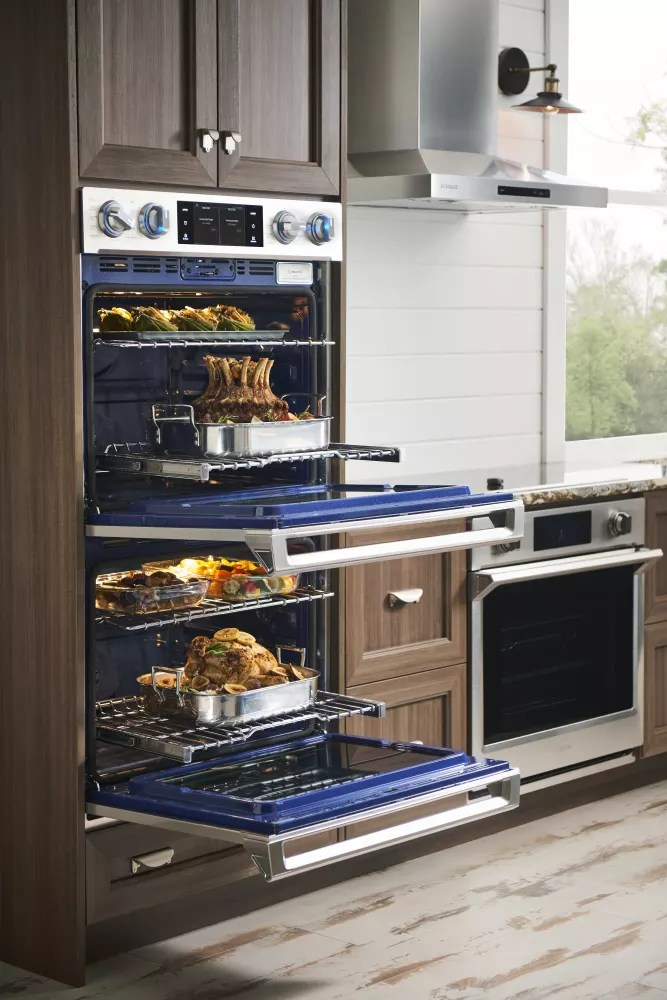 Samsung NV51K6650SS 30 Inch Wall Oven with 51 cu ft
