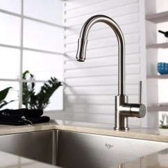 Pull Out Spray Kitchen Faucet How To Build A Island Kraus Kpf1622ksd30sn Single Lever With Hi Series Lifestyle View