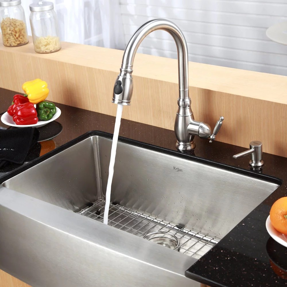 kraus kitchen faucet series kpf2150sd20