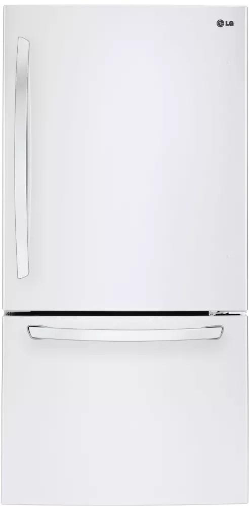 LG LDCS24223W 33 Inch Bottom Freezer Refrigerator with