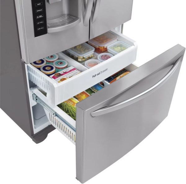 LG Linear Compressor Refrigerator French Door