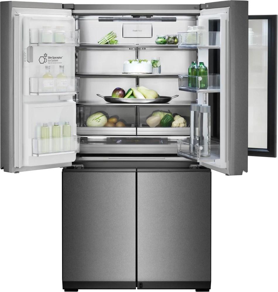 LG LUPXC2386N 36 Inch 4Door Counter Depth French Door Refrigerator with InstaView Window Door