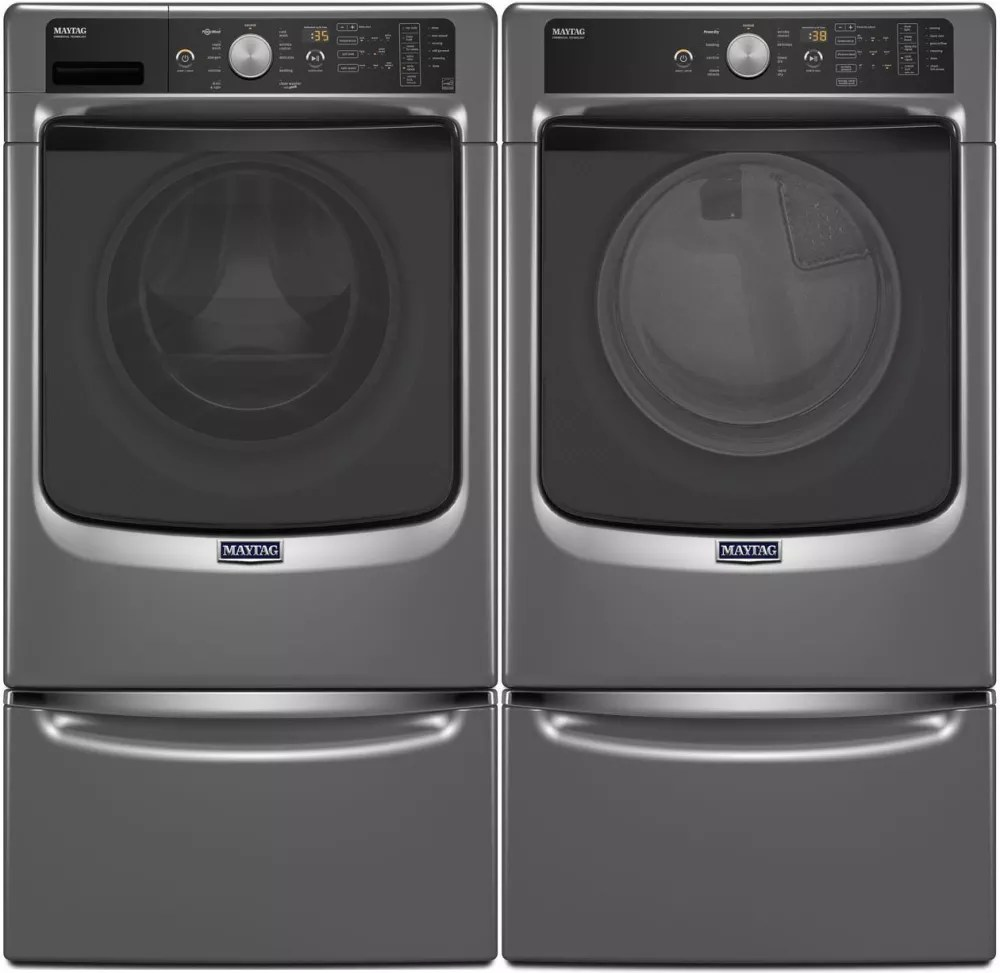 Maytag MED5500FC 27 Inch 74 cu ft Electric Dryer with PowerDry System Advanced Moisture