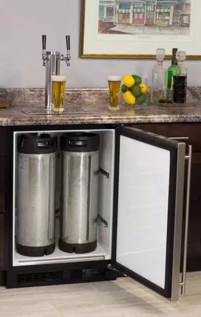 Marvel ML24BTP3LP 24 Inch Builtin Beer Dispenser with