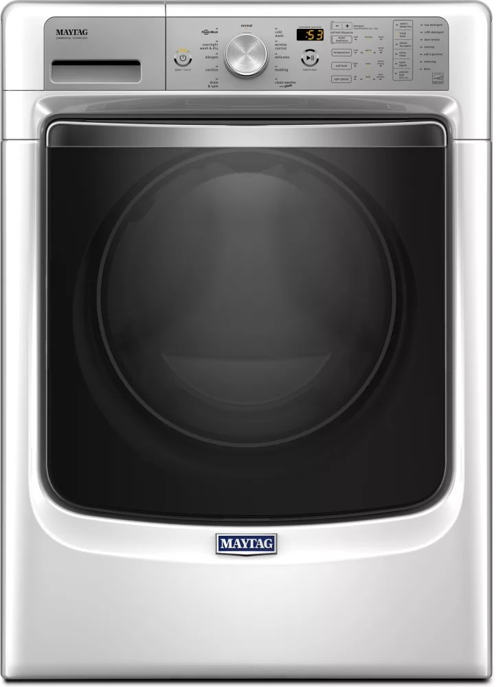 hight resolution of maytag mhw8200fw maytag front load washer with optimal dose dispenser and powerwash s ystem