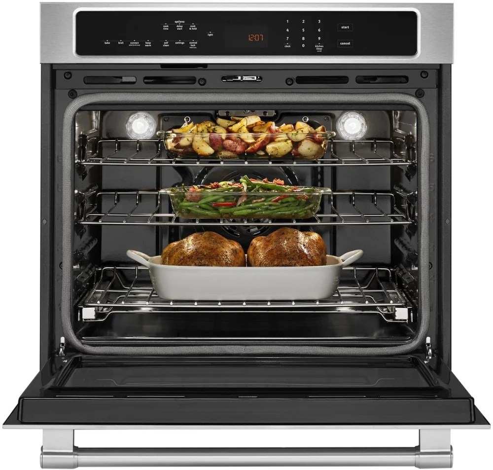 Maytag MEW9530FZ 30 Inch Electric Wall Oven with 50 cu