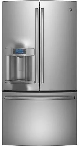 GE PFE28RSHSS 36 Inch French Door Refrigerator with 277