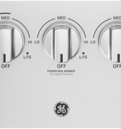 ge profile pgp7036slss stainless steel controls  [ 2400 x 856 Pixel ]