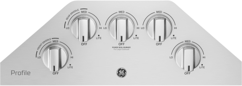 small resolution of  ge profile pgp7036slss stainless steel controls