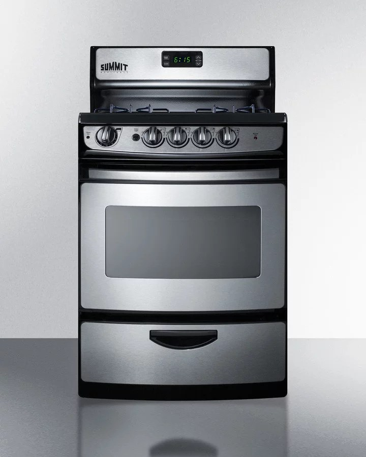 Freestanding Gas Range Timer Stove Clocks And Appliance Timers