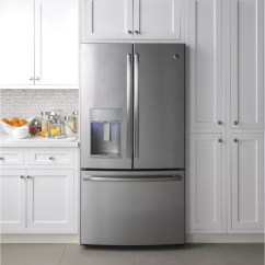 The Cheapest Kitchen Cabinets Best Place To Buy Appliances Ge Pye22kskss 36 Inch Counter Depth French Door ...