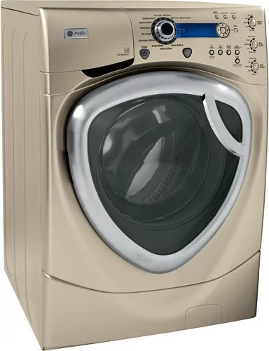 GE WPDH8900JMG 27 Inch FrontLoad Washer with 42 cu ft Capacity Multiple Specialty Wash