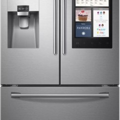 Sub Zero Wolf Kitchen How Much Does A Island Cost Samsung Rf265beaesr 36 Inch French Door Refrigerator With ...