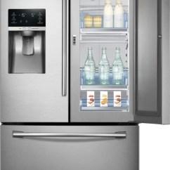Kitchen Hood Design Cabinets Mn Samsung Rf28hdedtsr 27.8 Cu. Ft. French Door Refrigerator ...