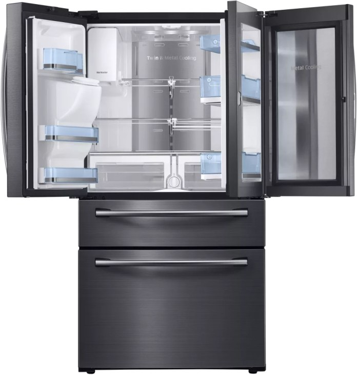 Samsung's 17.6 Cu. Top Freezer Model RT18M6215SR.