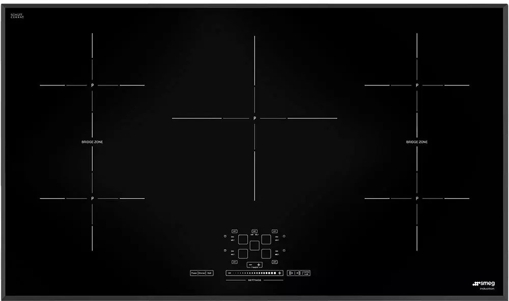 smeg induction hob wiring diagram epiphone les paul simu536b 36 inch cooktop with 5 cook zones 9 power