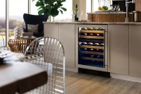 Sub-Zero UW24STHLH 24 Inch Undercounter Wine Cooler with ...