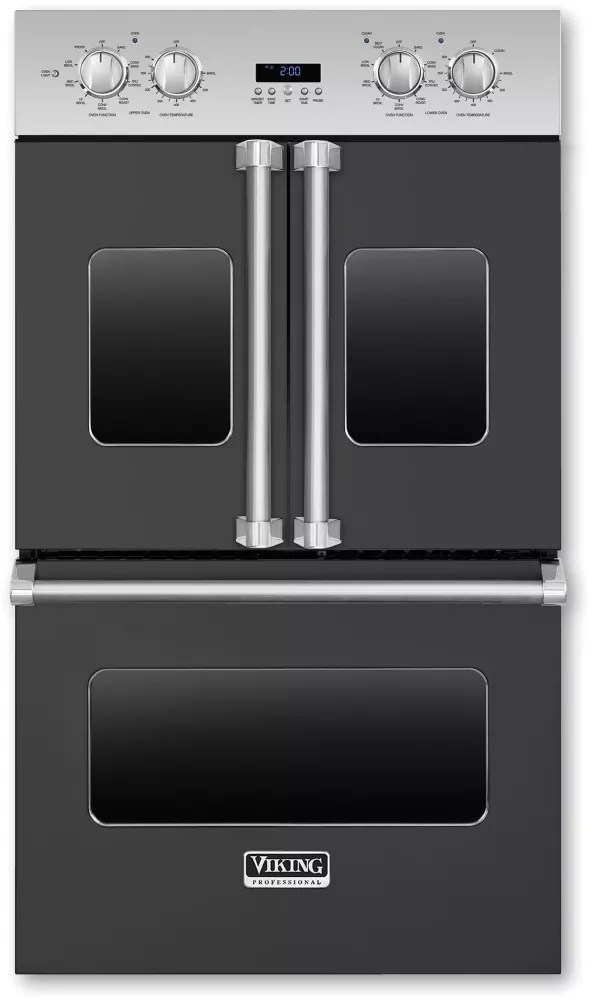 Viking VDOF730 30 Inch Double Electric French Door Oven With 47 Cu Ft Vari Speed Dual Flow