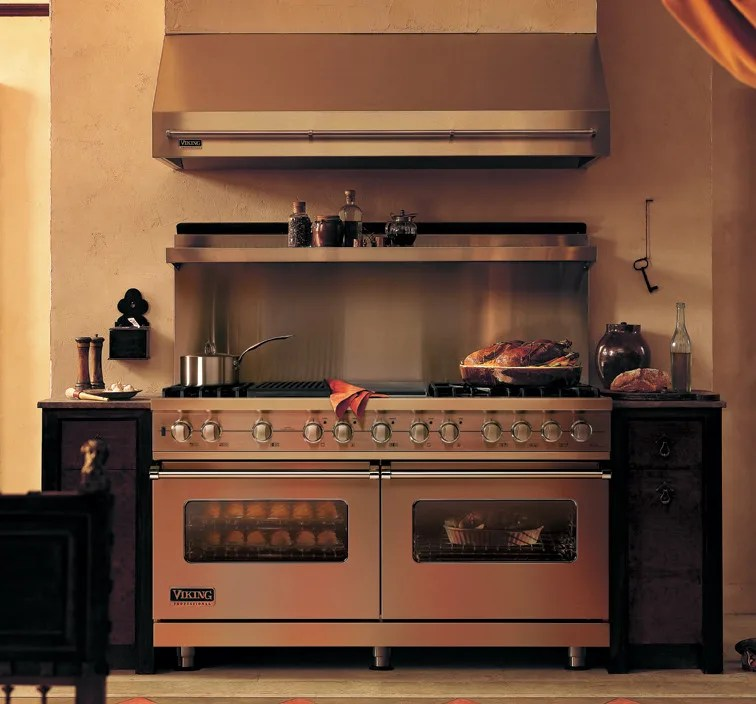 Viking VDSC5606GQBK 60 Inch Pro Style Dual Fuel Range With 6 VSH Pro Sealed Burners VariSimmers