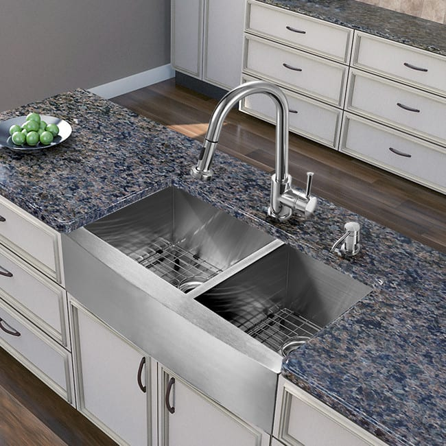 Vigo Industries VG15265 36 Inch Farmhouse Stainless Steel