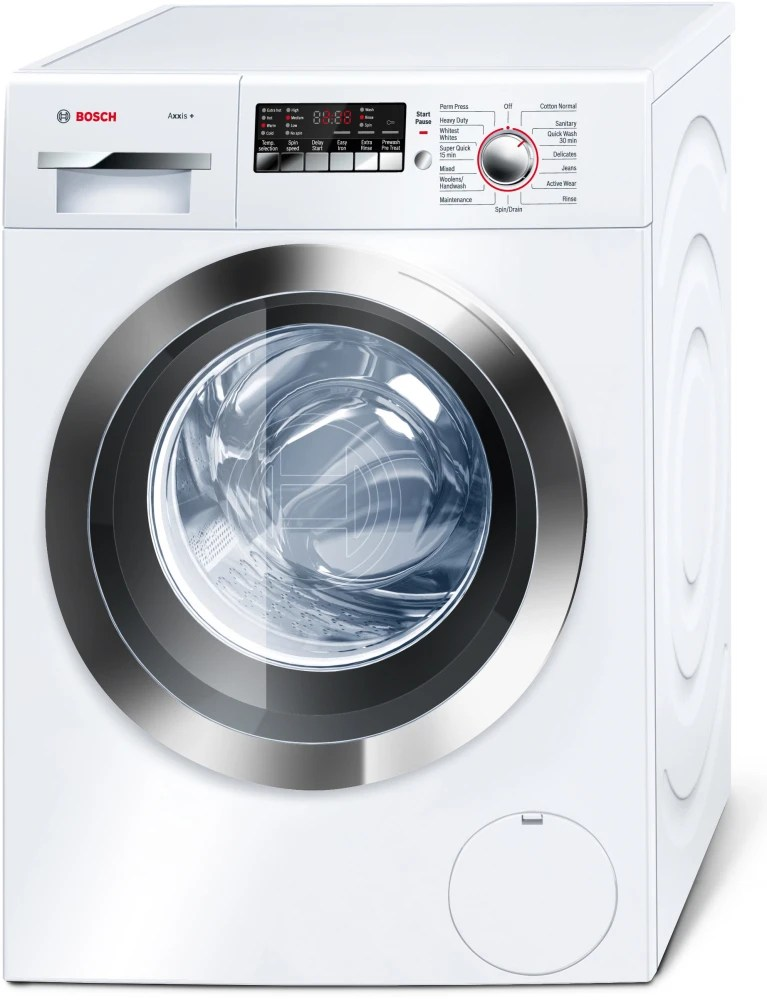 Bosch WAP24202UC 24 Inch FrontLoad Washer with 22 cu ft Capacity 15 Wash Programs Super