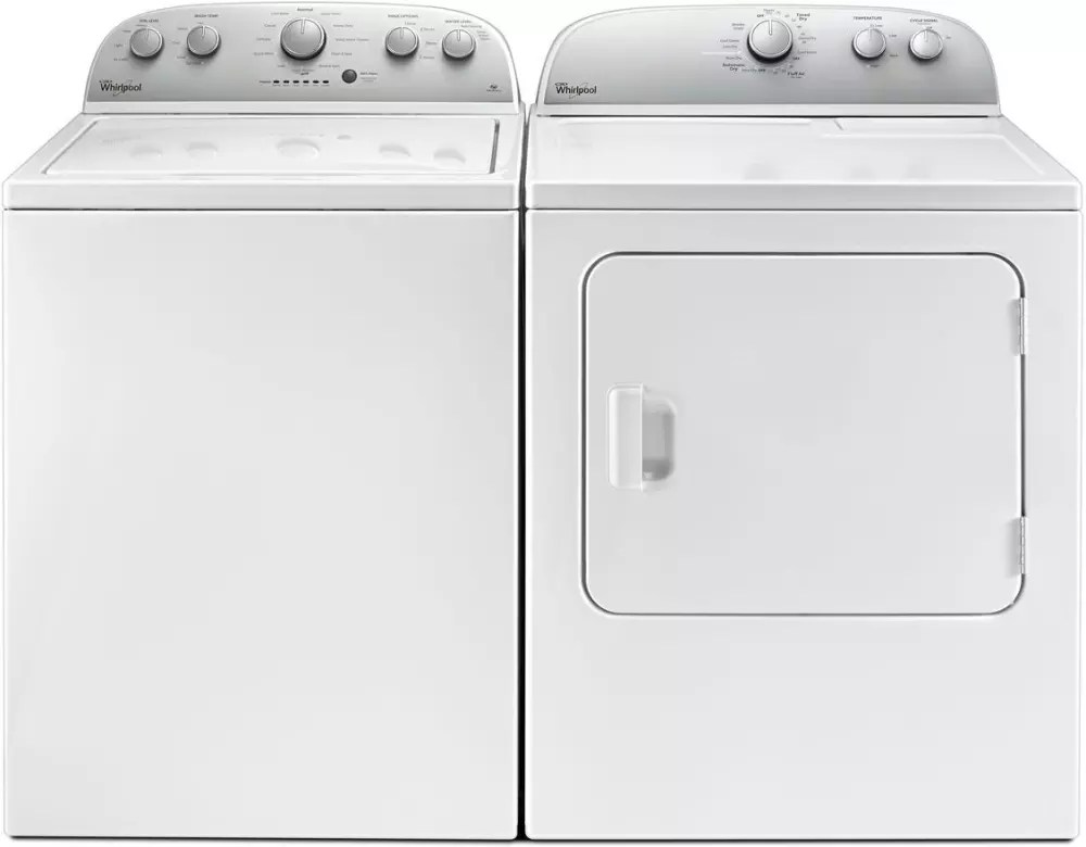 Whirlpool WTW4816FW 28 Inch Top Load Washer With 3.5 Cu