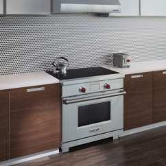 Rohl Kitchen Sinks Ninja Wolf Ir365pesph 36 Inch Induction Range With 5.3 Cu. Ft ...