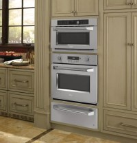 Monogram ZSC1201JSS 30 Inch Single Electric Wall Oven with ...