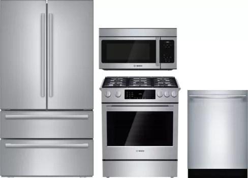 bosch kitchen suite prep cart boreradwmw19 4 piece appliances package with 800 series