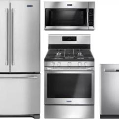 Maytag Kitchen Appliances Farm Sinks For Mareradwmw44 4 Piece Package With French