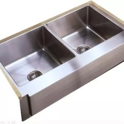42 Inch Kitchen Sink Essential Tools For The Empire Industries F42d Apron Front Double Bowl Stainless Steel